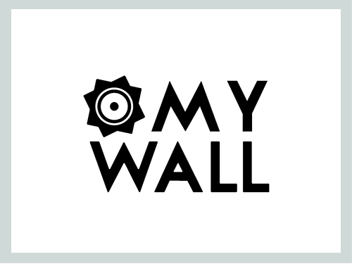 My Wall logo site